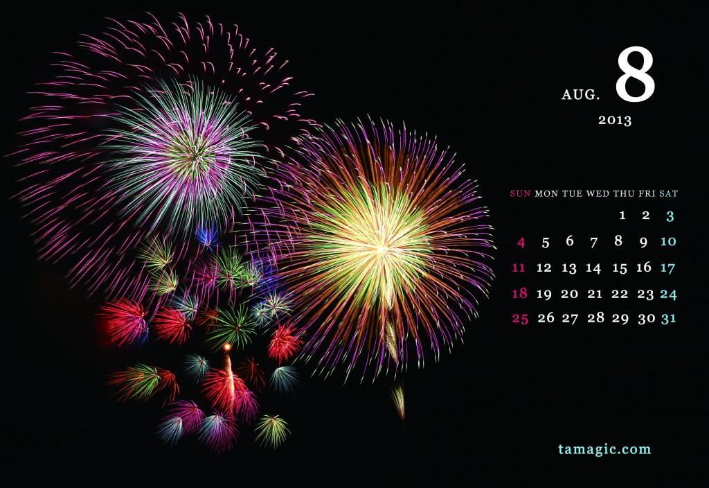 tamagic_2013_8花火